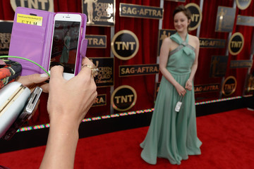 Andrea Riseborough 21st Annual Screen Actors Guild Awards - Red Carpet