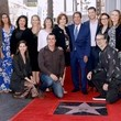 Andrea Roth Television Executive Peter Roth Honored With Star On The Hollywood Walk Of Fame