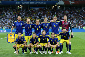 Andreas Granqvist Emil Forsberg Germany vs. Sweden: Group F - 2018 FIFA World Cup Russia