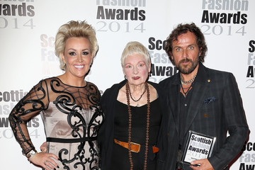 Andreas Kronthaler Winners Room at the Scottish Fashion Awards
