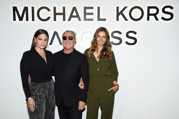 Andreea Diaconu Michael Kors and Google Celebrate the New MICHAEL KORS ACCESS Smartwatches