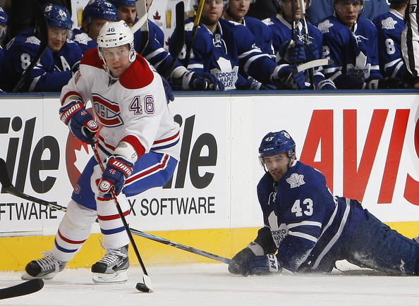 Andrei Kostitsyn - Montreal Canadiens v Toronto Maple Leafs