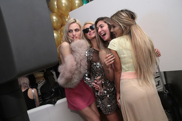 Andreja Pejic Paris Hilton X Beautycon Festival NYC Pre-Party