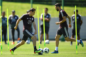 Andres Guardado Mexico Training Session - FIFA World Cup Russia 2018