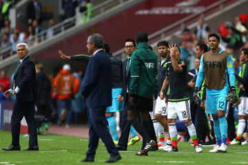 Andres Guardado Portugal v Mexico: Play-Off for Third Place - FIFA Confederations Cup Russia 2017
