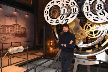 Andres Velencoso IWC Schaffhausen at SIHH 2018 - Day 2