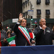 Andrew Cuomo Columbus Day Parade Winds Down New York's Fifth Avenue