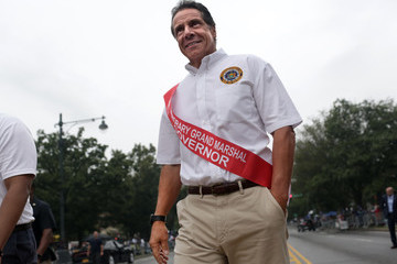 Andrew Cuomo Annual West Indian Day Parade Held In Brooklyn, New York