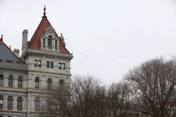 "Andrew Cuomo Plane Banner Reading ""New Yorkers Say: Cuomo's Got To Go!"" Flies Over NY State Capitol As Allegations Of Sexual Harassment & Misconduct Mount Against Andrew Cuomo"