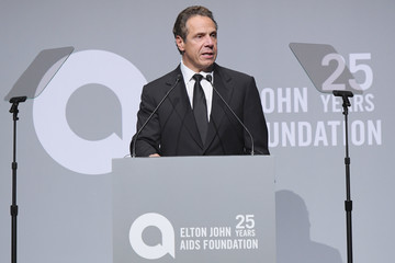 Andrew Cuomo Elton John AIDS Foundation Commemorates Its 25th Year and Honors Founder Sir Elton John During New York Fall Gala - Show