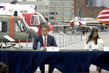Andrew Cuomo Intrepid Sea, Air & Space Museum Hosts Virtual Memorial Day Ceremony