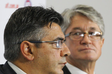 Andrew Demetriou Mike Fitzpatrick Essendon Bombers AFL Commission Hearing