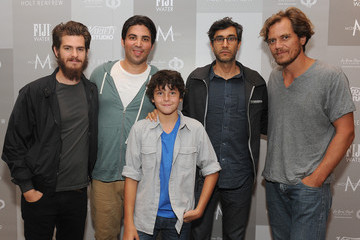Andrew Garfield Variety Studio Presented By Moroccanoil At Holt Renfrew - Day 4 - 2014 Toronto International Film Festival