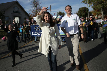 Andrew Grimes Kentucky Senate Allison Grimes Marches In Veterans Day Parade