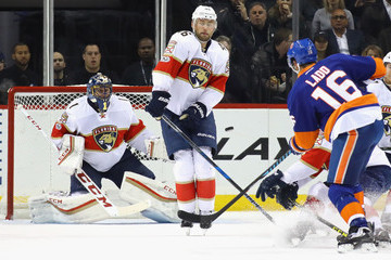 Andrew Ladd Florida Panthers v New York Islanders