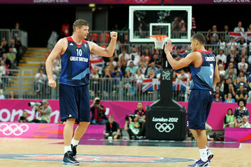 Andrew Lawrence Olympics Day 6 - Basketball