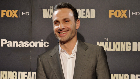 Andrew+Lincoln in 'Andrew Lincoln and Robert Kirkman Attend 'The Walking Dead' Premiere in Madrid