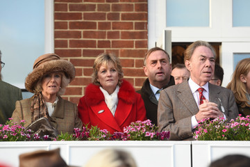 Andrew Lloyd-Webber The Duchess of Cornwall Attends the 60th Hennessy Gold Cup