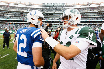 Andrew Luck Indianapolis Colts vs. New York Jets