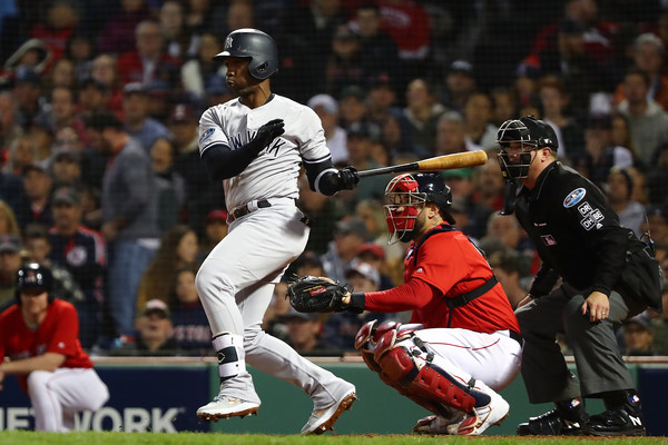 Divisional Round - New York Yankees vs. Boston Red Sox - Game One