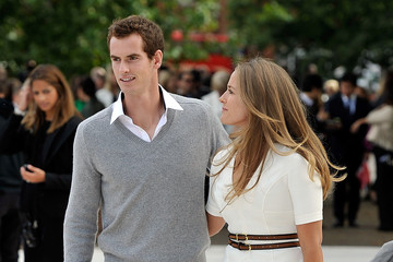 Andrew Murray Kim Sears Burberry Spring Summer 2013 Womenswear Show - Arrivals