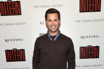 Andrew Rannells The Cinema Society and Ruffino Host a Screening of Warner Bros. Pictures' 'The Intern' - Arrivals