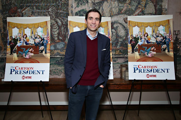 Andrew Ross Sorkin Stephen Colbert, Chris Light and R.J. Fried Host an Exclusive Screening of 'Our Cartoon President'