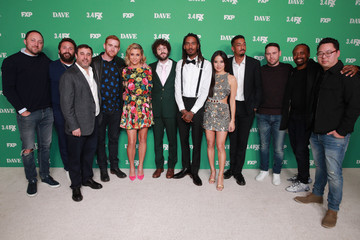 "Andrew Santino Taylor Misiak Premiere Of FXX's ""Dave"" - Red Carpet"