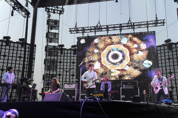Andrew VanWyngarden 2014 Coachella Valley Music and Arts Festival - Day 2