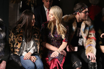 Andrew Warren Dennis Basso - Front Row - February 2017 - New York Fashion Week: The Shows