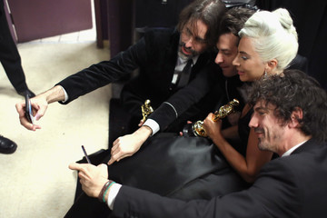 Andrew Wyatt Benjamin Rice 91st Annual Academy Awards - Backstage