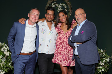 Andrew Zimmern Chip & Joanna Gaines Celebrate The Launch Of Magnolia Network On Discovery+