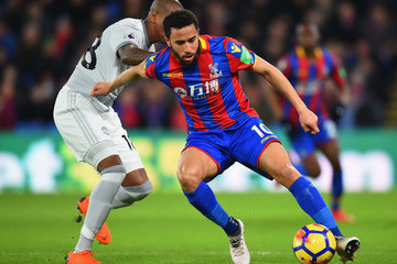 Andros Townsend Crystal Palace Vs. Manchester United - Premier League