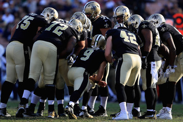 Andrus Peat New Orleans Saints v Los Angeles Rams