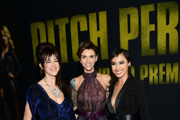 Andy Allo Premiere of Universal Pictures' 'Pitch Perfect 3' - Red Carpet