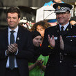 Andy Burnham Manchester Arena Bombing First Anniversary Tribute Takes Place In Albert Square