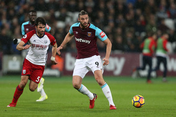 Andy Carroll West Ham United v West Bromwich Albion - Premier League