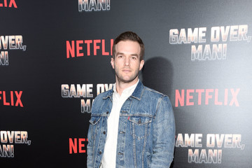 Andy Favreau Premiere Of Netflix's 'Game Over, Man!' - Arrivals