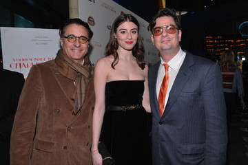 """Andy Garcia Dominik Garcia-Lorido Premiere Of A24's """"A Glimpse Inside The Mind Of Charles Swan III"""" - Red Carpet"""