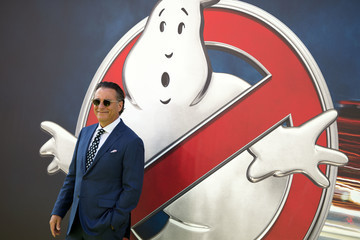 Andy Garcia Premiere of Sony Pictures' 'Ghostbusters' - Arrivals