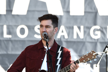 Andy Grammer 2018 Women's March Los Angeles