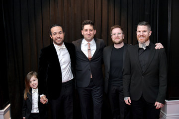 Andy Hurley 61st Annual Grammy Awards - Red Carpet