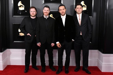 Andy Hurley 61st Annual Grammy Awards - Arrivals