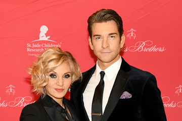 Andy Karl Orfeh Brooks Brothers And St Jude Children's Research Hospital Annual Holiday Celebration In New York City