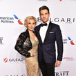 Andy Karl Elton John AIDS Foundation's 17th Annual An Enduring Vision Benefit - Arrivals