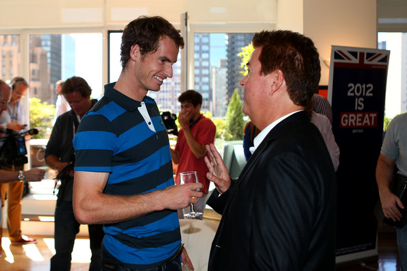 2012 US Open Champion Andy Murray - New York City Trophy Tour [event,recreation,team,conversation,games,tourism,crowd,party,andy murray,simon fuller,new york city,british,great britain,consulate,2012 us open,trophy tour,victory,trophy tour]
