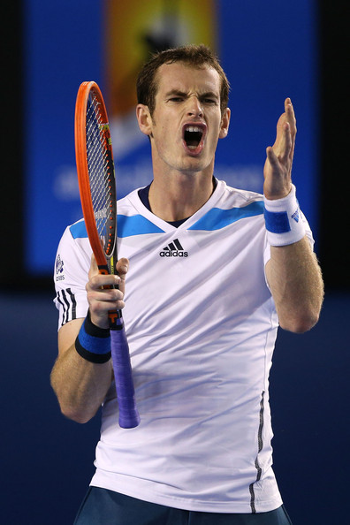 Andy+Murray+2014+Australian+Open+Day+10+