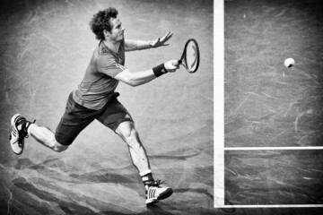 Andy Murray BNP Paribas Masters: Day 3