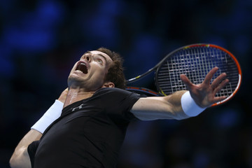 Andy Murray Barclays ATP World Tour Finals - Day Four