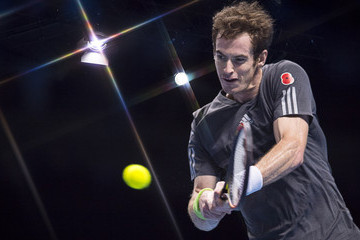 Andy Murray Barclays ATP World Tour Finals: Day 5